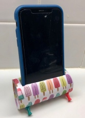 Nifty cell phone holder!