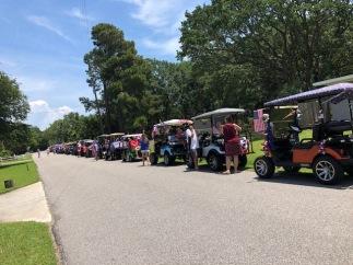 Parade line up!