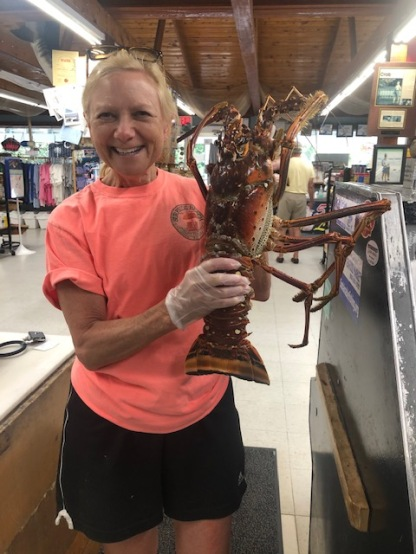 Who knew lobsters were off the coast of SC!?