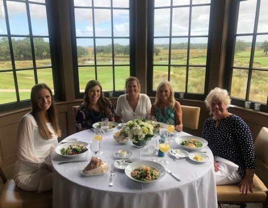 Views at the Bridesmaids' Luncheon...