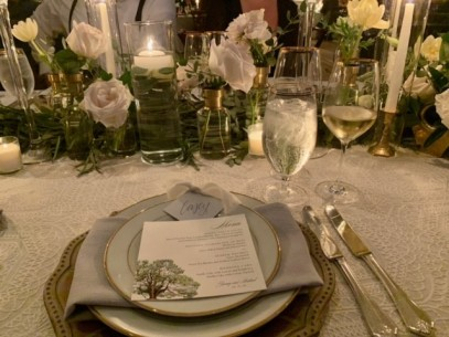 Place setting...