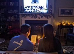 Christmas Eve Moravian Candlelight Lovefeast Service... online!